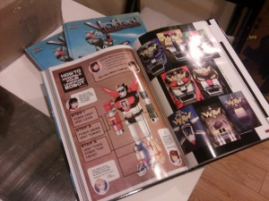 Voltron Art book