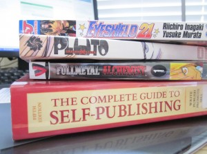 self-publishing manga