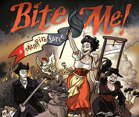 Dylan Meconis' Bite Me Comic Book Cover