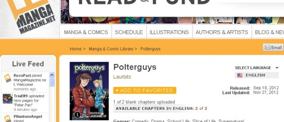 Polterguys on MangaMagazine.net